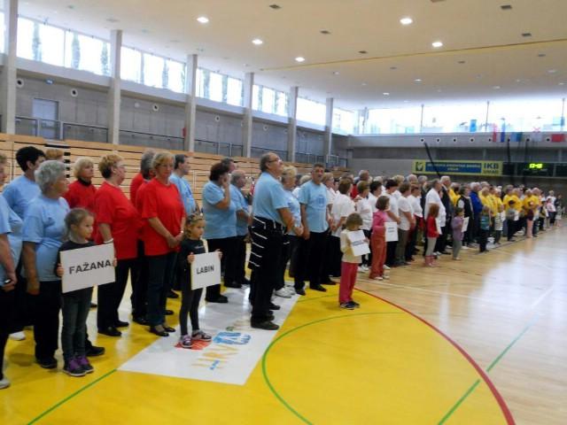 Labinjani na sportskom nadmetanju i druženju umirovljenika Istre
