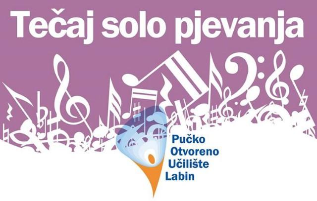 Pučko otvoreno učilište Labin organizira tečaj solo pjevanja