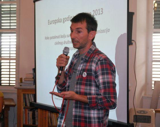 Predavanje aktivista Đure Capore u subotu u KuC Lamparna