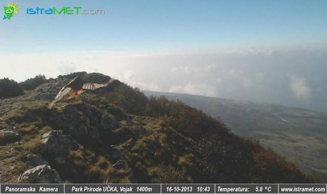 Uživo s krova Istre - panoramska kamera na Učki