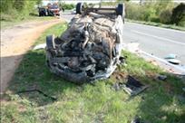 Plomin: Pijan bježao policiji pa izazvao prometnu nesreću