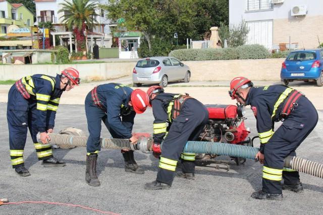 JVP Labin četvrta na međunarodnom natjecanju vatrogasnih ekipa u terenskim vozilima Medulin 2013.