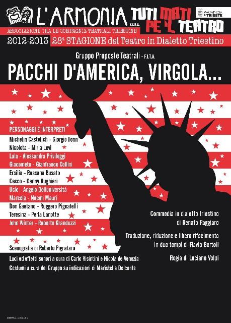 Kino Labin: U nedjelju besplatna komedija na tršćanskom dijalektu `Pacchi d''''America, virgola ......`