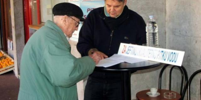 Labin: Peticija za niže račune za vodu