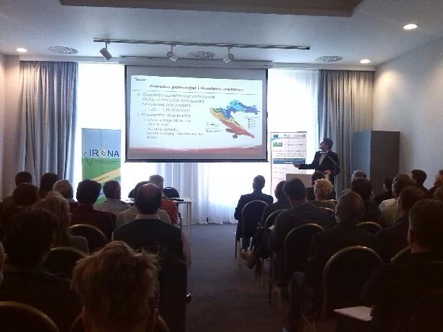 """IRENA - Istarska Regionalna Energetska Agencija je održala seminar """"Potencijal korištenja obnovljivih izvora energije u Istarskoj županiji"""" i radionicu o prednostima očuvanja ekosustava"""