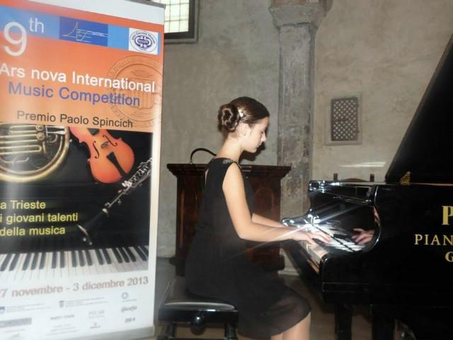 Mladi labinski glazbenici uspješni na 9. međunarodnom natjecanju Ars Nova održanom u Trstu