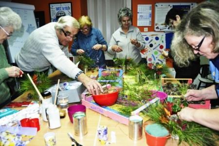 Održana kreativna radionica za osobe starije životne dobi