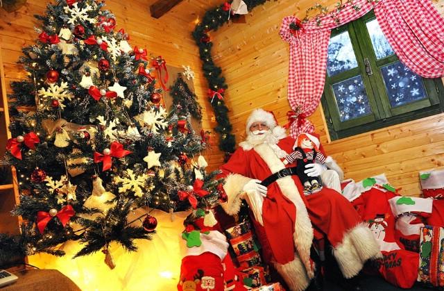 Djed Božićnjak danas u Svetom Martinu