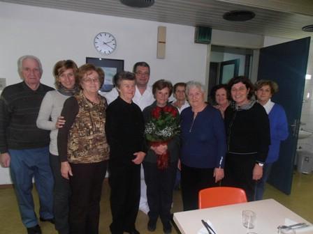 Katica Miletić je nakon 6 desetljeća dugog volonterskog staža u labinskom crvenom križu otišla u zasluženu `mirovinu`