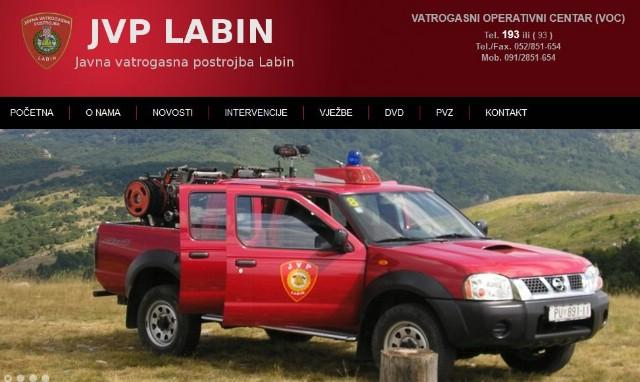 Objava oglasa za primanje u radni odnos u Javnu vatrogasnu postrojbu Labin