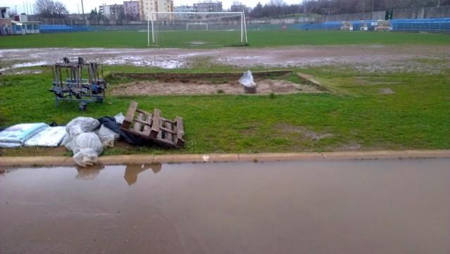 S vodom na površinu isplivali problemi Gradskog stadiona