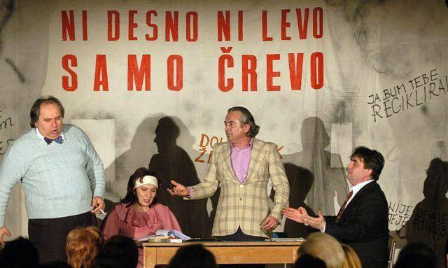 Kajkavska satirična komedija SKUPŠTINA Ljubomira Kerekeša 16. 2. 2014 u Kinu Labin