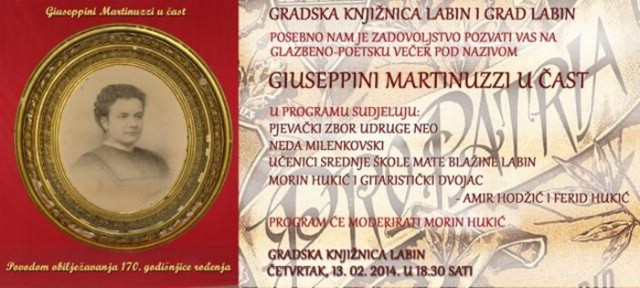 Glazbeno-poetska večer u čast Giuseppine Martinuzzi