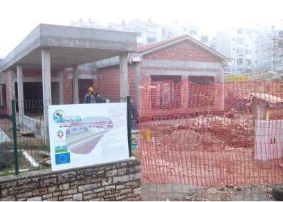 Instalacija geotermalne dizalice topline u jaslicama  dječjeg vrtića u Labinu bliži se kraju