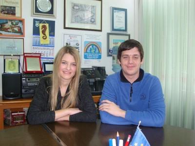 Ana Šumberac i Marino Voćanec županijski prvaci iz matematike
