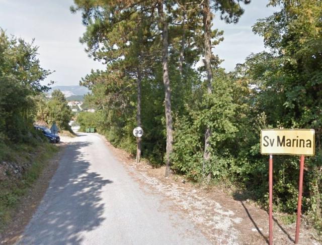 Šire se zavoji na cesti Škrkoni - Sv. Marina