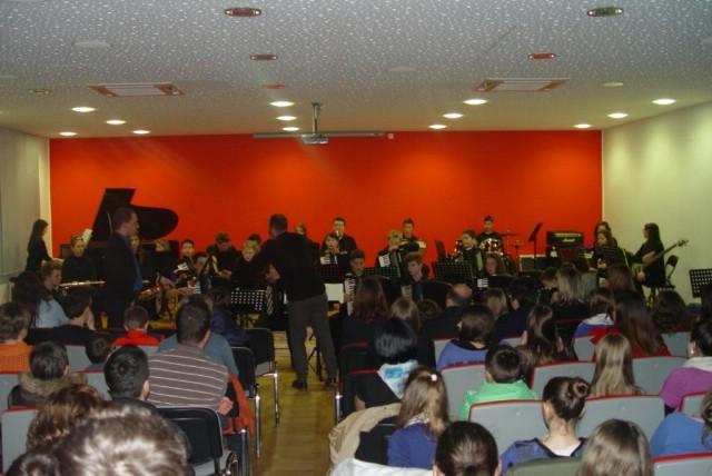 Orkestar Osnovne glazbene škole Matko Brajša Rašan pri POU Labin održao dva koncerta u Virovitici