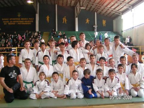 Dvije pobjede i poraz JK Ippon na regionalnom judo turniru u Puli