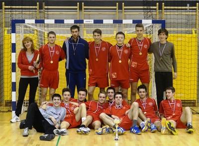 Mladići Školskog sportskog društva DUGA osvojili 1. mjesto na županijskom natjecanju u rukometu