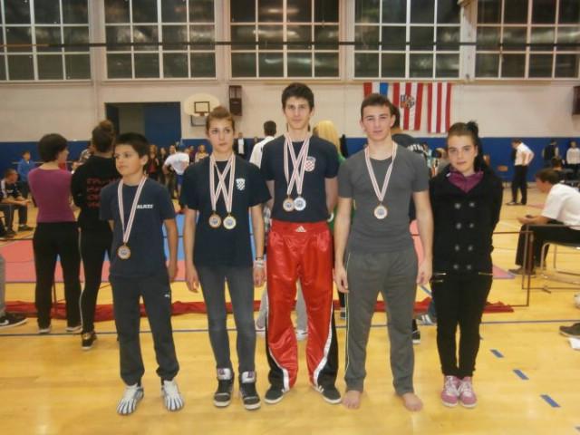 Labinski natjecatelji osvojili novih 6 medalja / Franka Fonović   prvakinja   Hrvatske u lightcontactu.