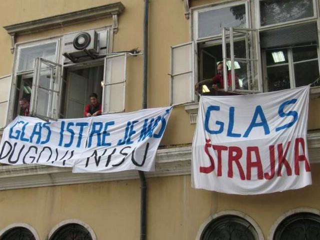 Novinari Glasa Istre spremni za štrajk, dva mjeseca bez plaće - i dalje postoji dug od gotovo pola milijuna kuna labinskom društvu De Conte