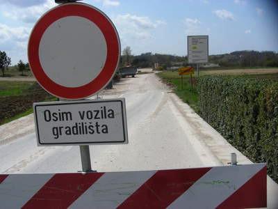 Cesta Gračišće-Pićan-Kršan gotova do kraja kolovoza