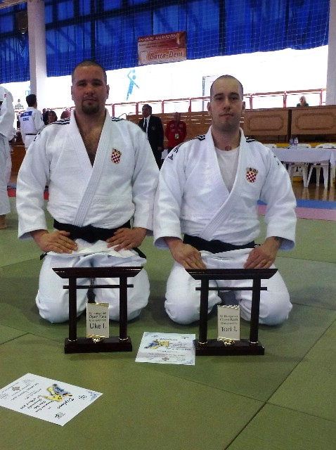 Labinski judaši Braća Danijjel i Vedran Pizentić prvi na 4. Hungarian open u Katama