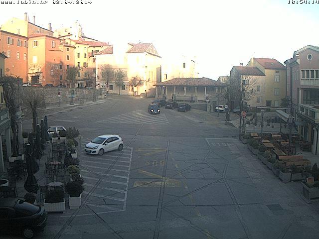 Labin: Od 1. travnja na snazi zabrana parkiranja na Titovom trgu