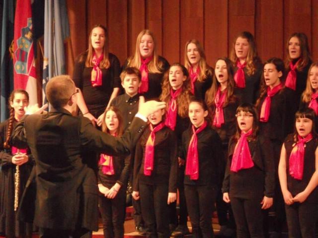 Pjevački zbor labinske glazbene škole otvorio 14. susret pjevačkih zborova djece i mladeži Mali kanat