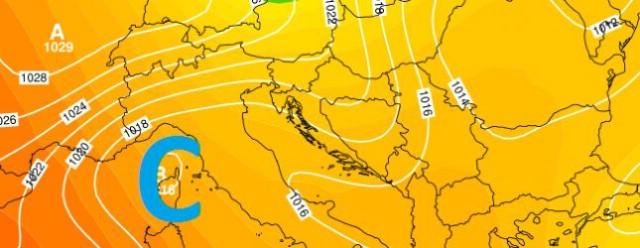 Kratkotrajno pogoršanje uz kišu i osvježenje očekuje nas u prvom dijelu srijede