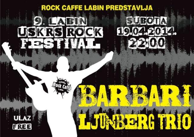 Tri koncerta za Uskršnji vikend u labinskom Rock Caffe-u