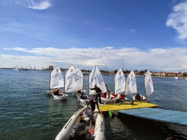 JK Kvarner na regati Mittel Europa Opti Race za klasu Optimist