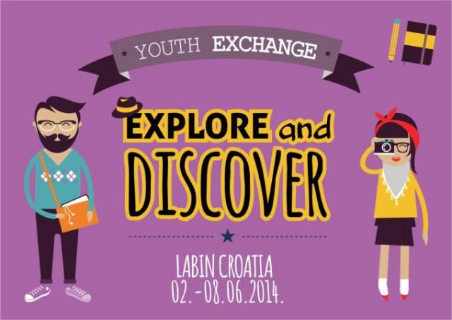 """Otvorene prijave za umjetničku razmjenu mladih """"Exploreanddiscover"""" u Labinu [Prijavnica dostupna za preuzimanje]"""