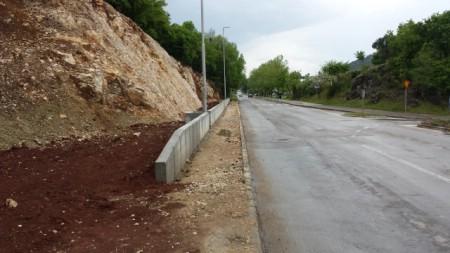 Labin: Krenula izgradnja zaštitnog zida u Istarskoj ulici