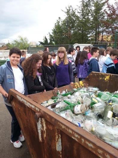 OŠ I.L. Ribara posjetili balinarnicu i reciklažno dvorište