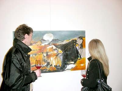 Izložba slika u Galeriji Alvona i predstavljanje videoinstalacija u Lamparni