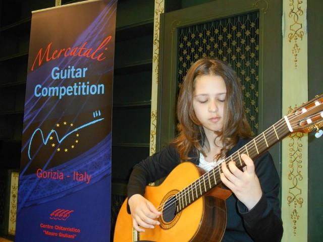 Steli Dermit druga nagrada na 11. europskom natjecanju iz klasične gitare `Enrico Mercatali` u Italiji