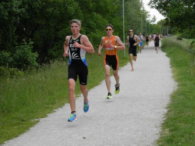 Luka Paliska 2. na 13. Međunarodnoj triatlon utrci u Ptuju