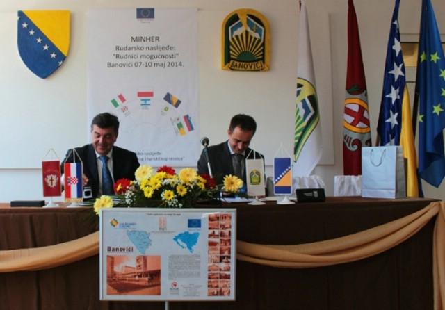 Labin i Banovići potpisali Pismo namjere o zajedničkoj suradnji