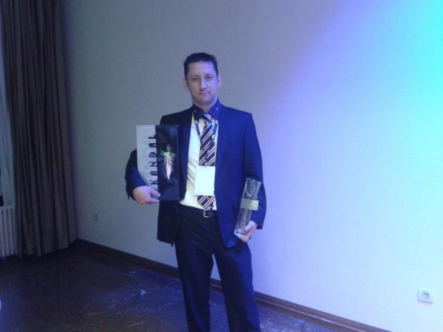 Rivierin Roberto Zuliani srebrni na međunarodnom natjecanju  barmena u SlovenijiI