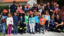 Vatrogasci posjetili rabački vrtić