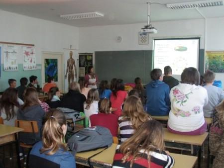 Predavanje o zdravoj prehrani u OŠ Matije Vlačića