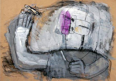 """Izložba Karla Paliske, """"Fragmenti"""", u Glariji Milotić u  Puli"""