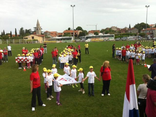 Dječji vrtić Pjerina Verbanac iz Labina na Olimpijskom festivalu dječjih vrtića za Istarsku županiju