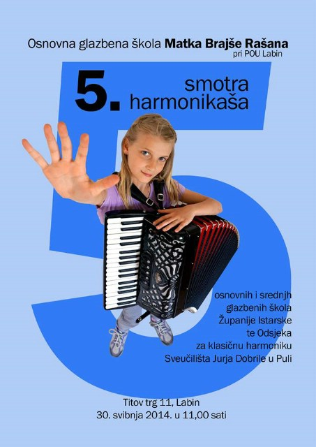 Smotra mladih istarskih harmonikaša
