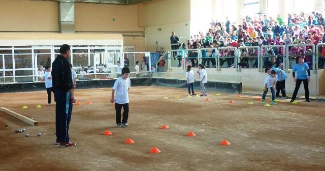 U Pazinu  4. lipnja 2014. godine na finalnom natjecanju projekta Boćajmo u školi i pobjednici  natjecanja u epiću