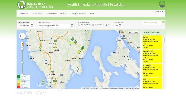 Predstavljen portal Kvaliteta zraka u Republici Hrvatskoj