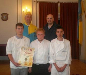 Kuhari labinske Srednje škole osvojili 1. mjesto na međunarodnom natjecanju u Baji