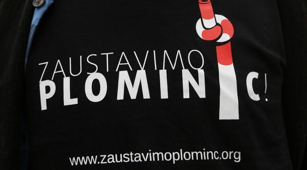 Investitore u TE Plomin C brinu prosvjedi ekoloških aktivista