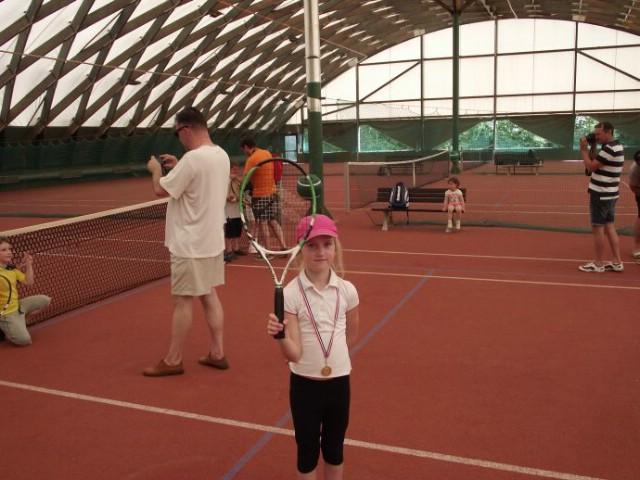 Mlada tenisačica Lucija Zupičić iz TK Rabac osvojila zlatnu medalju na Otvorenom prvenstvu Rovinja